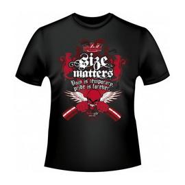 T-Shirt Size Matters (M, L, XL, XXL)