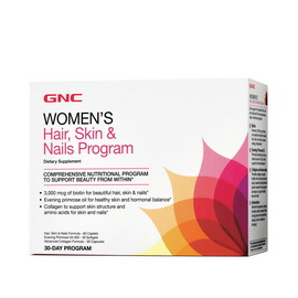 Women's Hair, Skin & Nails Program