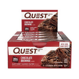 QuestBar Chocolate Brownie (12 x 60 g)