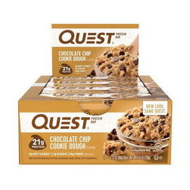 QuestBar Chocolate Chip Cookie Dough (12 x 60 g)
