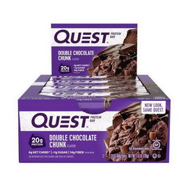 QuestBar Double Choc Chunk (12 x 60 g)