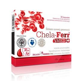 Chela-Ferr Med + (30 caps)