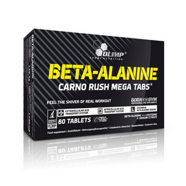 Beta-Alanine Carno Rush (80 tabs)