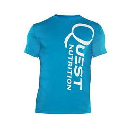 Quest Blue Men's Shirt (XS, S, M, L, XL, XXL)