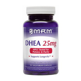 DHEA 25 mg (90 veg caps)