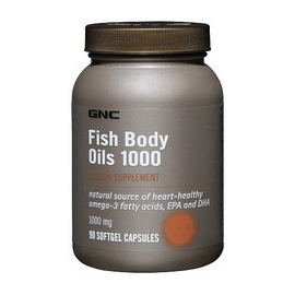 Fish Body Oils 1000 (90 softgels)