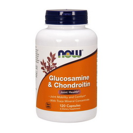 Glucosamine and Chondroitin (120 caps)