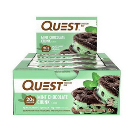 QuestBar Mint Chocolate Chunk (12 x 60 g)