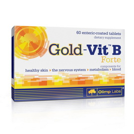 Gold - Vit B forte (60 tabs)