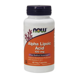 Alpha Lipoic Acid 100 mg (60 veg caps)