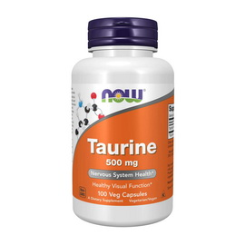 Taurine 500 mg (100 caps)