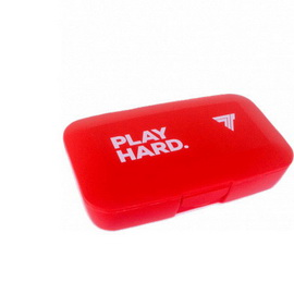 Pillbox Play Hard Red