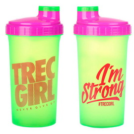 Shaker Trec Girl Green (700 ml)