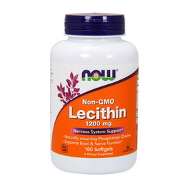 Lecithin 1200 mg (100 softgels)