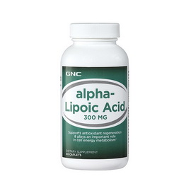 Alpha Lipoic Acid 300 mg (60 caplets)