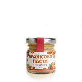 Арахисовое масло с клюквой (35 г)