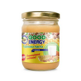 Горіхова паста з медом (460 g)