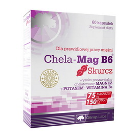 Chela-Mag B6 Skurcz (60 caps)