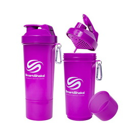 SmartShake Slim NEON Purple (500 ml)