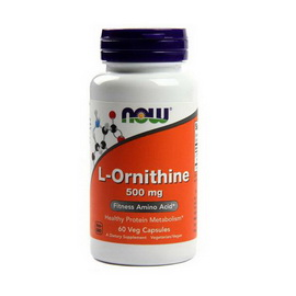 L-Ornithine 500 mg (60 caps)