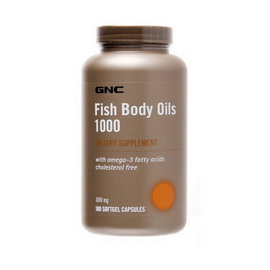 Fish Body Oils 1000 (180 softgels)