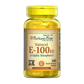 Natural E-100 IU (100 softgels)