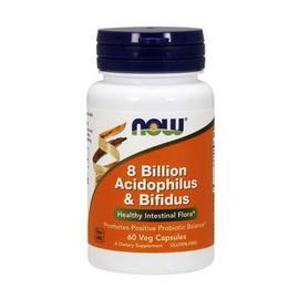 8 Billion Acidophilus & Bifidus (60 veg caps)