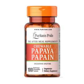 Chewable Papaya Papain (100 chew tabs)