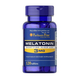 Melatonin 3 mg (120 tabs)