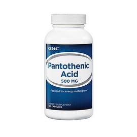 Pantothenic Acid 500 mg (100 caps)