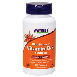 Vitamin D-3 1000 IU (180 softgels)