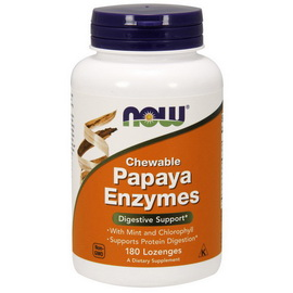 Chewable Papaya Enzyme (180 lozenges)