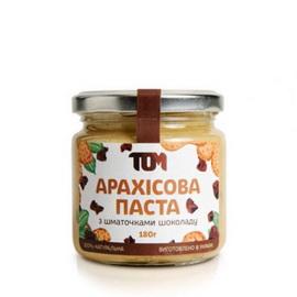 Арахисовое масло с кусоч. шоколада (180 г)