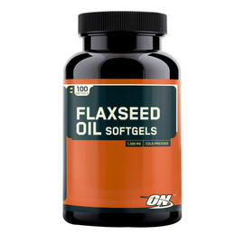 Flaxseed Oil Softgels (100 caps)