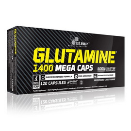 L-Glutamine Mega Caps (120 caps)
