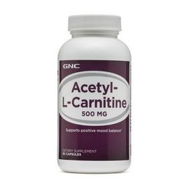 ACETYL L-CARNITINE 500 (60 caps)