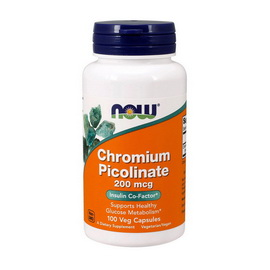 CHROMIUM PICOLINATE 200 mg (100 caps)
