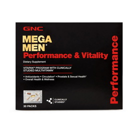 MEGA MEN PERFORM & VITALITY (30 pak)