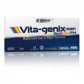 Vita-genix MEN Sport AM/PM (100 caps)