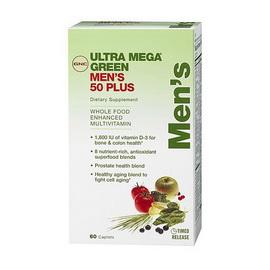 UM GREEN MENS 50+ MULTI (60 caps)