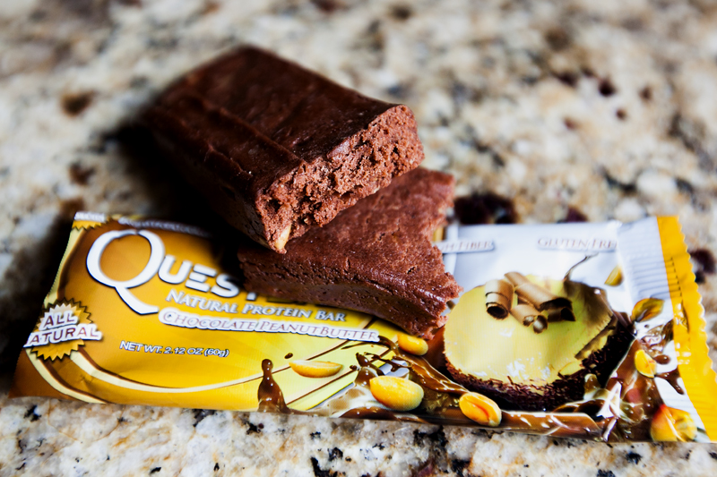 Quest Bar Chocolate Peanut Butter без упаковки