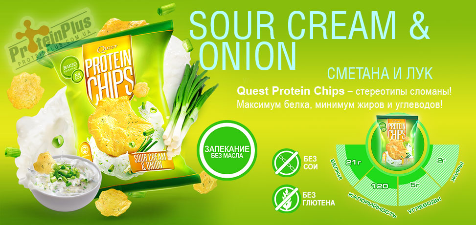 Quest Chips Sour Cream Onion