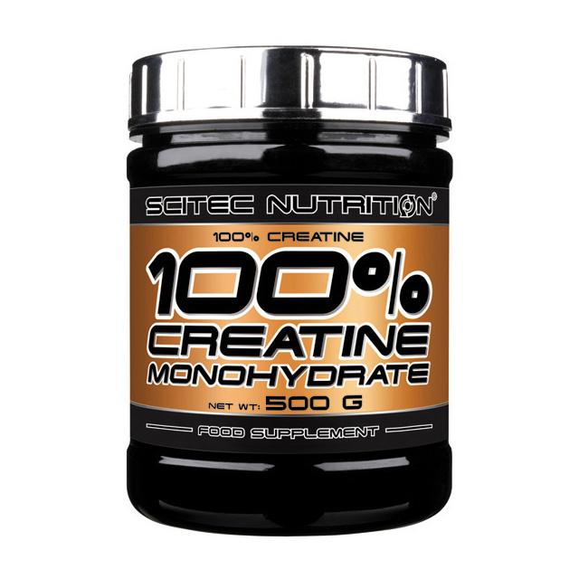 100% Pure Creatine Monohydrate (500 g)