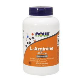 Arginine 500 mg  (250 caps)