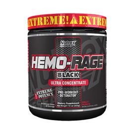 Hemo Rage Black Ultra Concentrate (222-228 g)