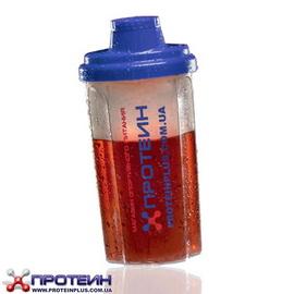 Фирменный шейкер Протеин (0,7 l, синий)