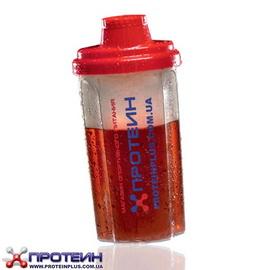 Фирменный шейкер Протеин (0,7 l, красный)