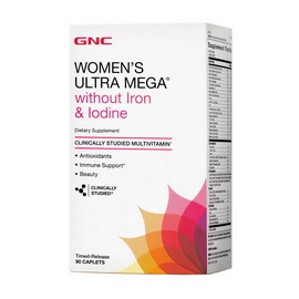 Womens Without Iron, Iodine (90 caps)