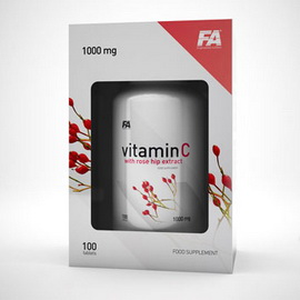 Vitamin C with Rose Hip Extract (100 tabs)