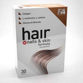 Hair & Nails & Skin Formula (30 tabs)